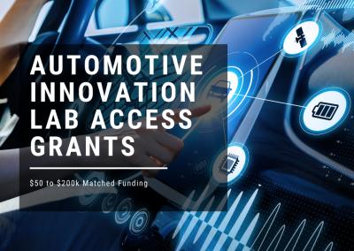 Automotive Innovation Lab Access Grants – Round 2 | business.gov.au