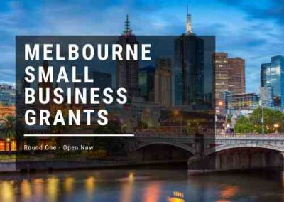 City of Melbourne – Small business Grants