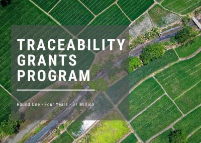Traceability Grant – now open