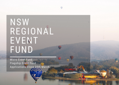 NSW Regional Event Fund $1m