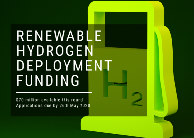 ARENA Renewable Hydrogen Deployment Funding