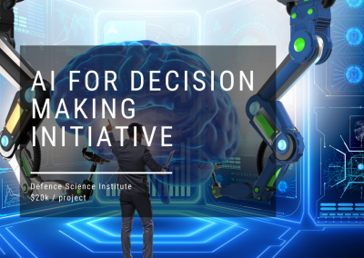 The Artificial Intelligence for Decision Making Initiative