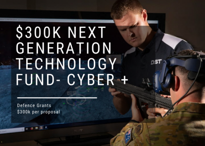 $300k Next Generation Technologies Fund for Defence Projects now open