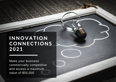 Innovation Connections is open for applications