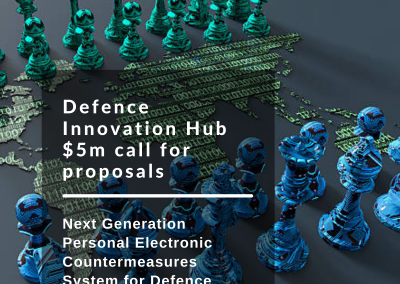 Defence Innovation Hub $5m call for proposals for Next Generation Personal Electronic Countermeasures