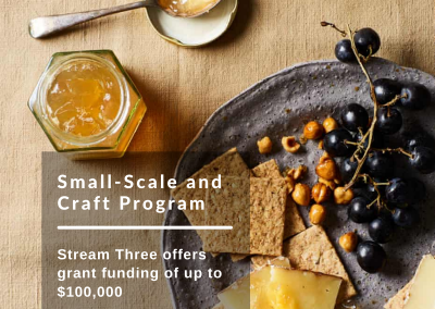 The Small-Scale and Craft Grant Program Victoria is now open