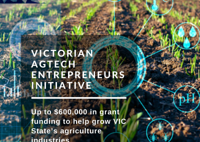 Grants of up to $600,000 are now available for AgTech Pre-Accelerator Program